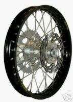 WARP 9 REAR WHEEL RIM HUB KTM ALL BLACK 18 BILLET HUB
