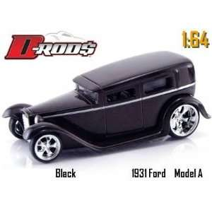 Jada Dub City D Rods Black 1931 Model A 164 Scale Die