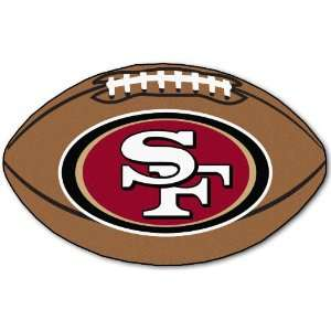 35 NFL San Francisco 49ers Chromo Jet Printed Football