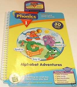 Leap Frog LeapPad Phonics Lesson 1 Book & Cartridge
