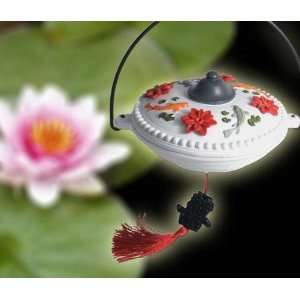 Perky Pet Hummingbird Imperial Feeder, Durable Resin, with Decorative