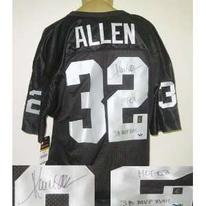 Marcus Allen Oakland Raiders NFL Autographed/Hand Signed