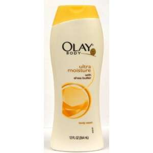 Olay Body Ultra Moisture with Shea Butter Body Wash, 12 Oz