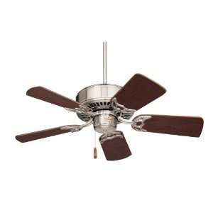 Emerson CF702BS Northwind 5 Blade Ceiling Fan in Brushed