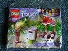 Lego Friends #30105 Stephanie Polybag Valentine Mailbox Heart, Flower