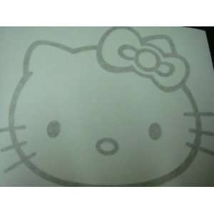 Hello Kitty Racing Car Decal Sticker (New) Gold