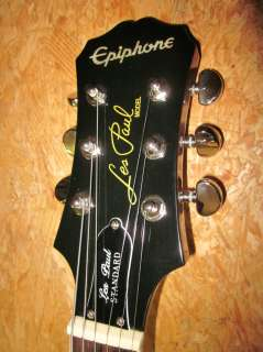 Epiphone by Gibson Les Paul Standard Electric Guitar, Plain Top