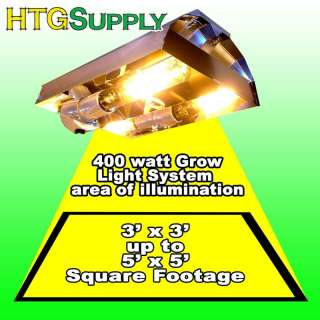 400 watt HPS GROW LIGHT 400w System Hydroponic sun lamp