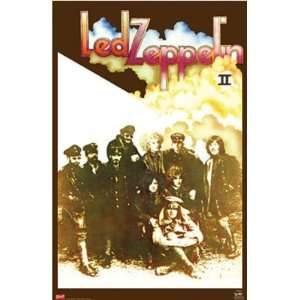 LED ZEPPELIN II 2 ROCK ROLL 24X36 WALL POSTER #8018F