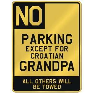 FOR CROATIAN GRANDPA  PARKING SIGN COUNTRY CROATIA