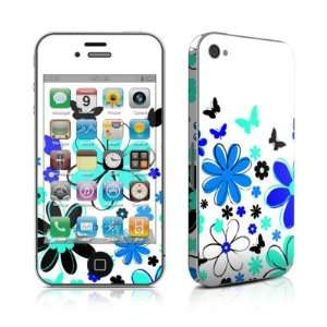 Josies Garden Design Protective Skin Decal Sticker for Apple iPhone 4