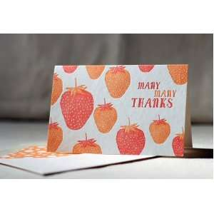 Berry Thanks Note Cards By Smock Paper