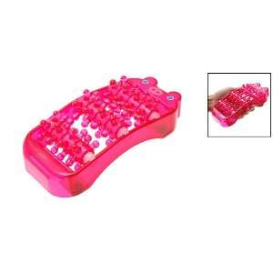 Small Plastic Foot Roller Release Relax Massager Red