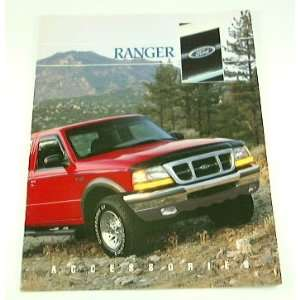 1997 97 FORD RANGER Pickup Truck ACCESSORIES BROCHURE
