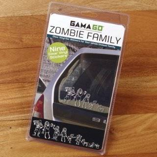 Gama Go Zombie Family Car Vinyl Sticker Decals