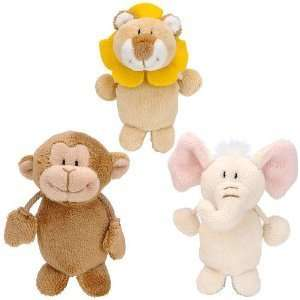 FAO Schwarz Baby Animal Finger Puppets Baby