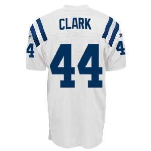 Indianapolis Colts NFL Jerseys #44 Dallas Clark WHITE