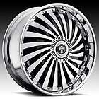 26 DUB SPIN Swyrl Wheel SET Chrome Spinners 26x10 RWD 5 & 6 LUG RIMS