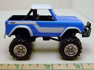 JADA 73 FORD BRONCO 4X4 ROCK CLIMBER PICKUP RUBBER TIRE LIMITED