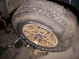 4X4 1995 JEEP GRAND CHEROKEE WHEELS AND TIRES