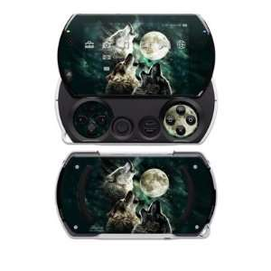 Three Wolf Moon Design Decal Skin Sticker for the Sony PSP