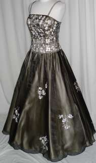 Ball Gown BlackChampagne M7/8 Dress Party Prom Evening