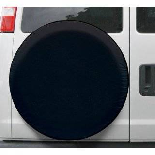 BLACK JEEP WRANGLER SPARE TIRE COVER WHEEL COVERS NEW Automotive