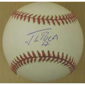 Jorge Toca Signed New York Mets Baseball
