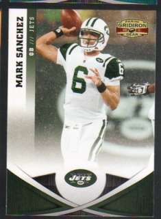 Panini Gridiron Gear Football #9 Mark Sanchez New York Jets