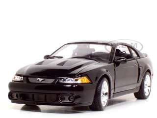 2003 FORD COBRA SVT MUSTANG BLACK 118 DIECAST MODEL CAR BY MAISTO
