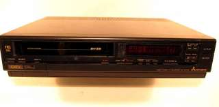 Mitsubishi HS 337UR 4 Head VCR VHS Tape Player Recorder