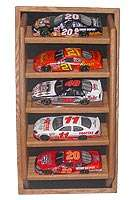 Oak Diecast Display Case open   5  124th Custom Colors