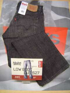 LEVIS 527 MENS BOOT CUT ZIP FLY JEANS HOUSE CAT