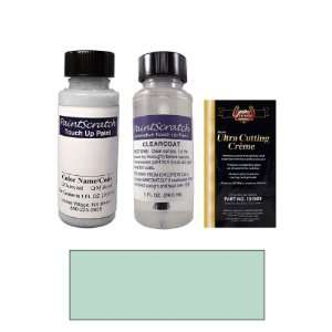 Oz. Wedgewood Blue Metallic Paint Bottle Kit for 2002 Mercedes Benz