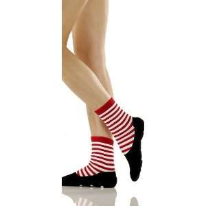 Foot Traffic Womens Non Skid Ragdoll Slipper Socks