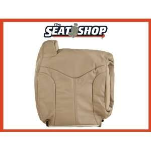 00 01 02 GMC Yukon Yukon XL Lt Neutral Leather Seat Cover