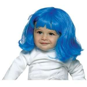 Lil Club Kid Wiggie Baby Wig (Blue) Halloween Costume