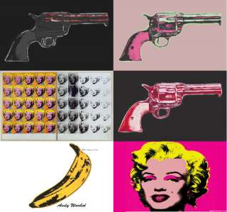 Andy Warhol Pop Art Laptop Netbook Skin Cover Sticker