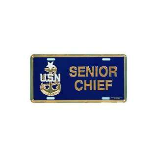 US Navy Senior Chief E 8 License Plate Automotive