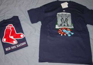 Boston Red Sox Nation t shirt Large Yankees RIP 2008