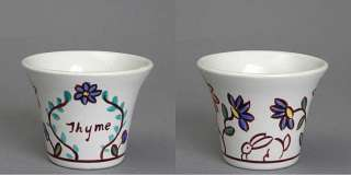 Vintage Bauer Pottery USA Motto Ware Flower Pot Planter
