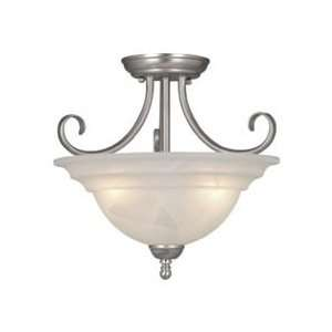 Vaxcel CF65353BN Babylon 14 3 Light Semi Flush Ceiling Light