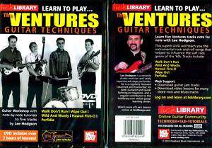 Lick Library Learn to Play The Ventures   DVD