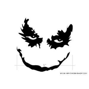 Joker   Dark Knight   Sticker   Decal   Die Cut