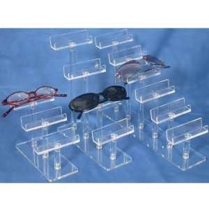 Eyeglass Display Clear Acrylic Glasses Stand Showcase
