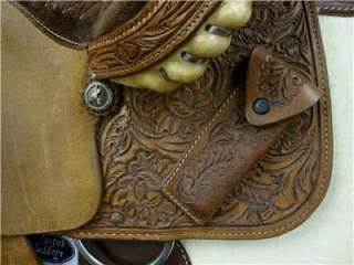 JERRY BEAGLEY  OKLAHOMA  WESTERN BARREL RACING SADDLE, NR