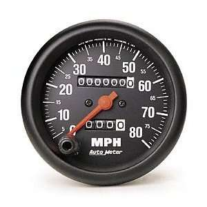 Auto Meter 2690 Z Series 3 3/8 80 mph In Dash Mechanical