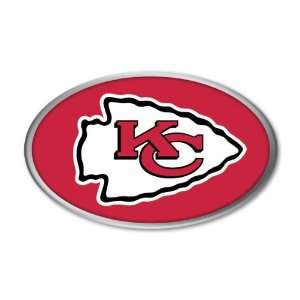 Kansas City Chiefs NFL Football Team Color & Chrome Car