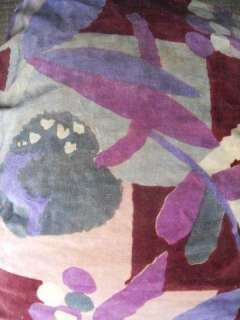 ANTIQUE FRENCH FABRIC SILK VELVET ART DECO FOR PILLOWS