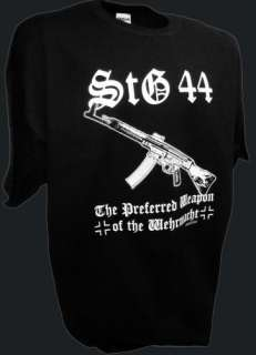 Sturmgewehr StG 44 Rifle Mg42 German Army WWii Gun Mag T Shirt